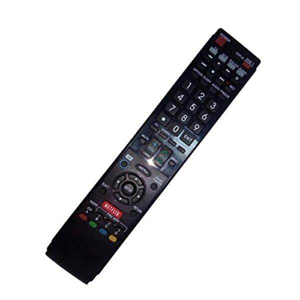 Replaced Remote Control Compatible for Sharp LC-60LE757U LC-60LE640UB LC-46LE832UN LC-40LE810UN LC-52LE835U LC40LE832U AQUOS LED LCD HD TV with NETFLIX 3D Button - intl