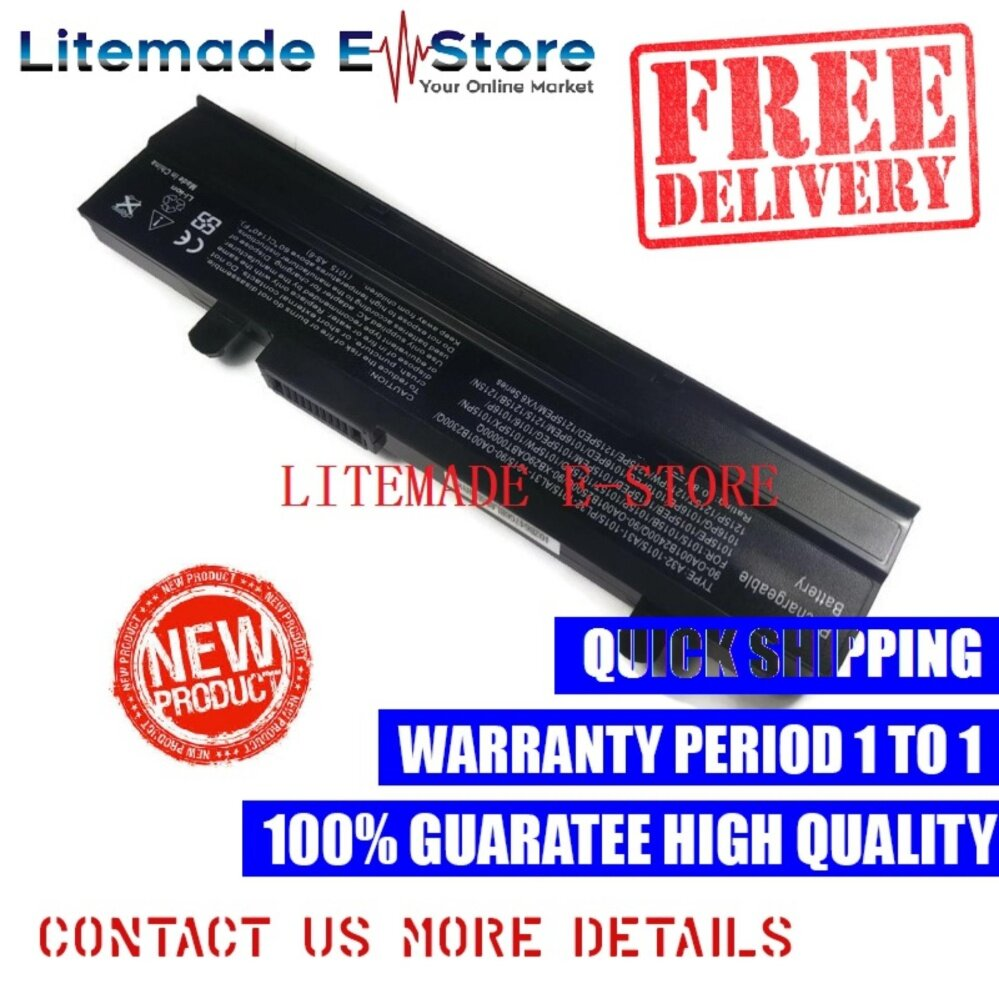 Replacement Asus EEE PC 1015T-BLK Series Battery