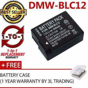 Harga (REPLACEMENT) DMW-BLC12 BLC12E BLC12PP Battery for Panasonic GX8GH2 G7 G6 G5 FZ2500 FZ2000 FZ1000 FZ300 ZFZ200