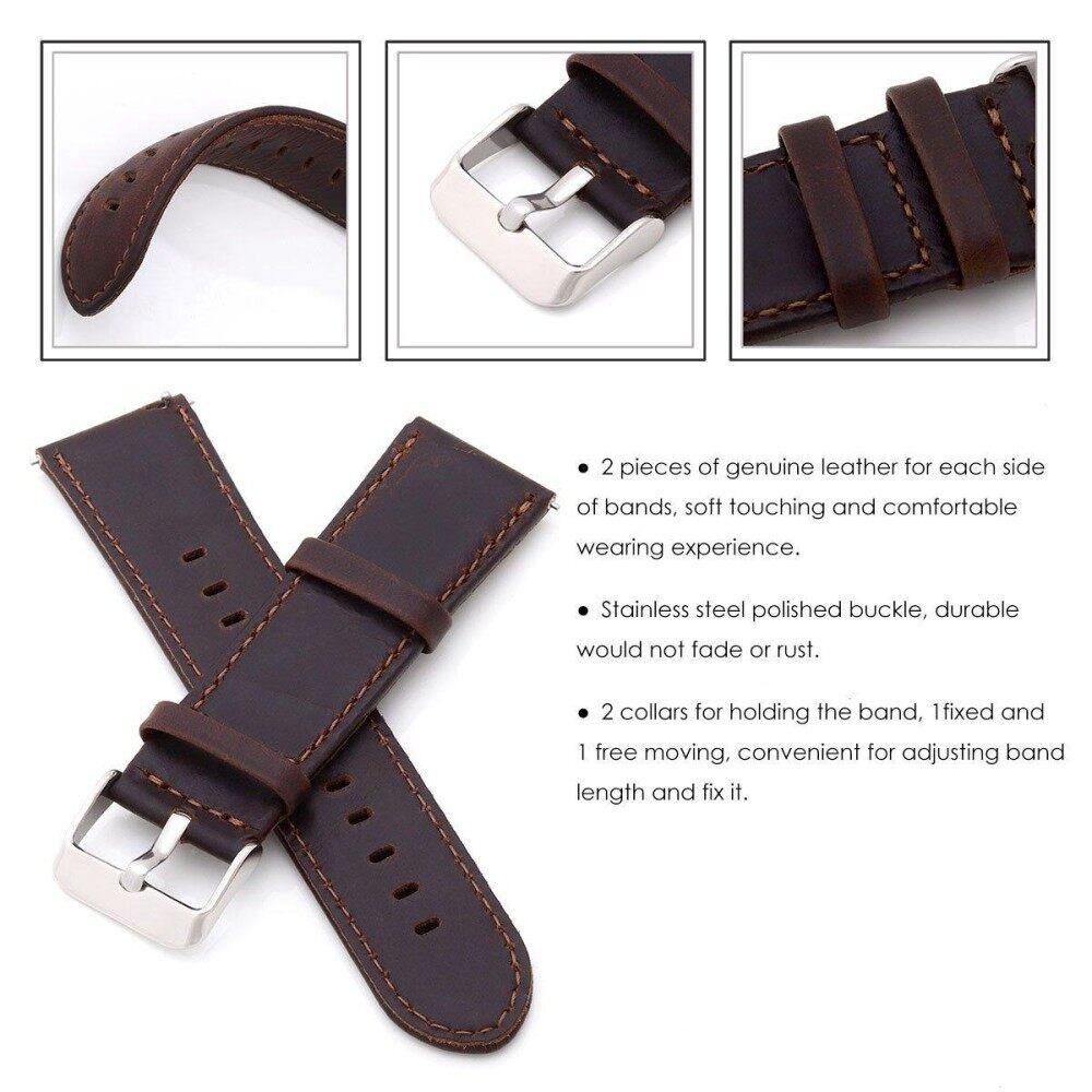 Cek Harga Baru Replacement Genuine Leather Strap For Huami Amazfit Bip Smartwatch Band Gambar Produk Rinci Bit Pace Lite Youth Smart Watch Intl Terkini