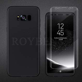 Roybens 360? Shockproof Full Body Hybrid Screen Protector + HardCase Cover For Samsung Galaxy S8 Plus Black