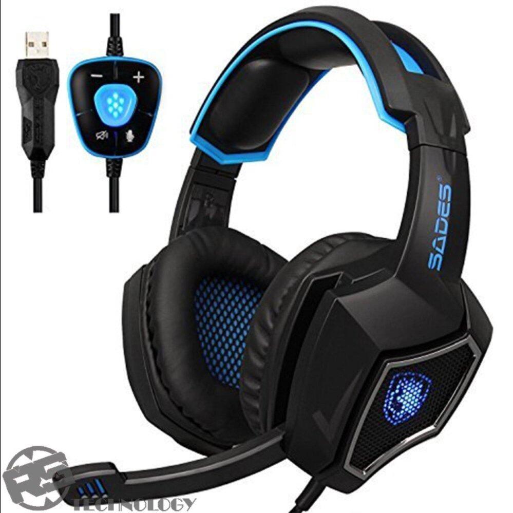 Headset Sades Gaming SA 903 with 7.1chIDR470000. Rp 475.000
