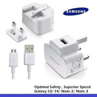 Harga Samsung 2.0 A High Speed Charger Free Mirco USB Cable (White)