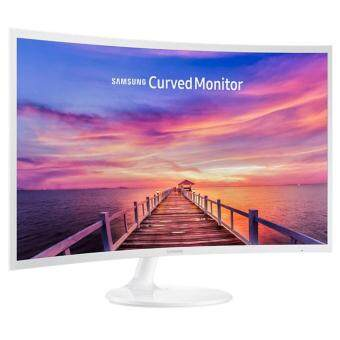 "Harga Samsung 31.5"" LC32F391FWE Curved White LED Monitor - Super SlimCurved Design"