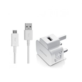 Samsung ETA0U70UBEGSTD High Speed Charger with Mirco USB Cable (White)