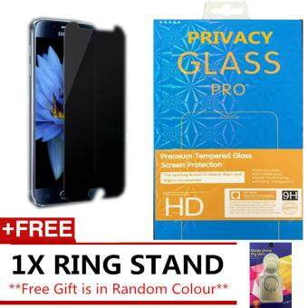 SAMSUNG GALAXY A3 2016 A310 ANTI SPY PRIVACY TEMPERED GLASS SP FREE IRING STAND