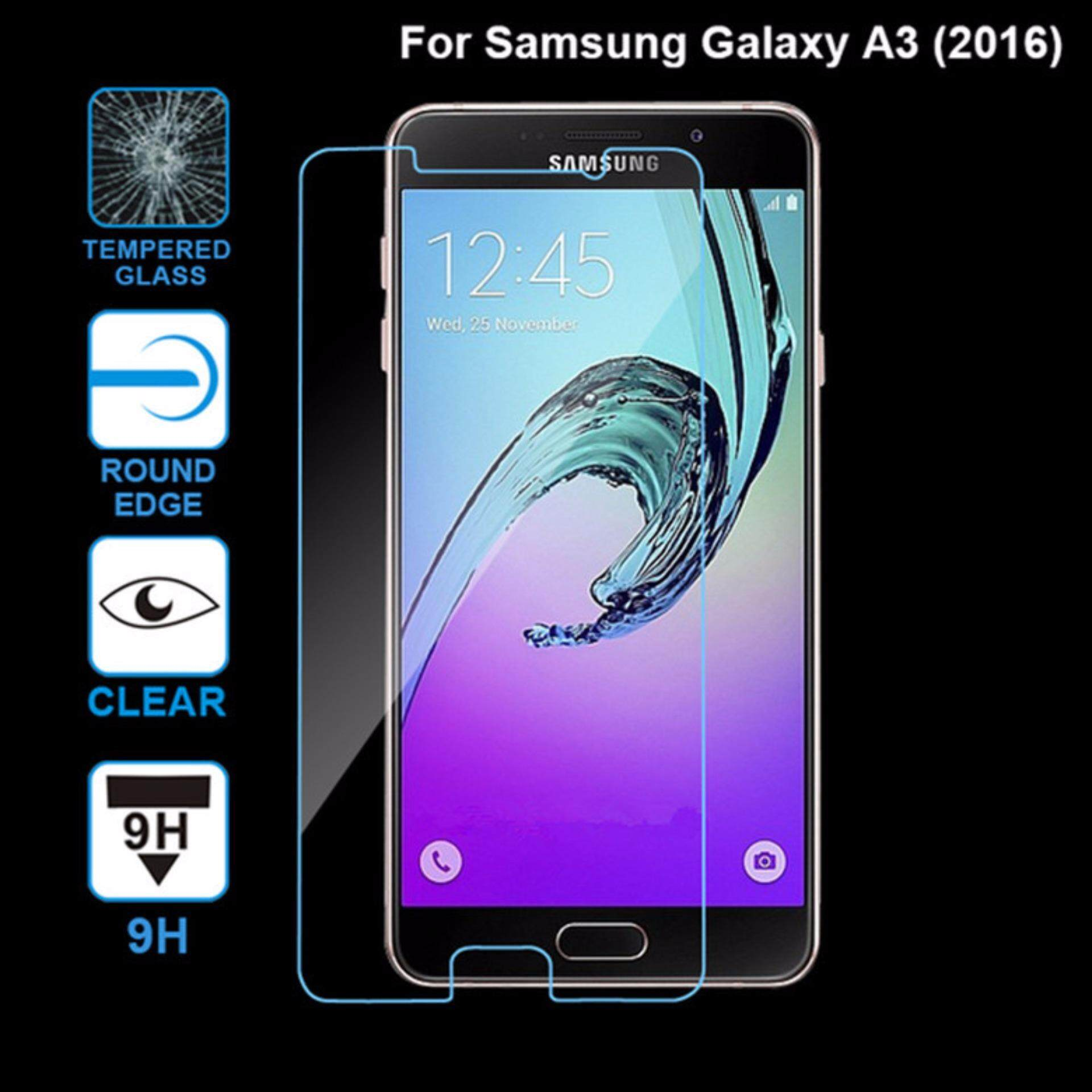 Samsung Galaxy A3 2016 Tempered Glass Screen Protector 9H Round Edges