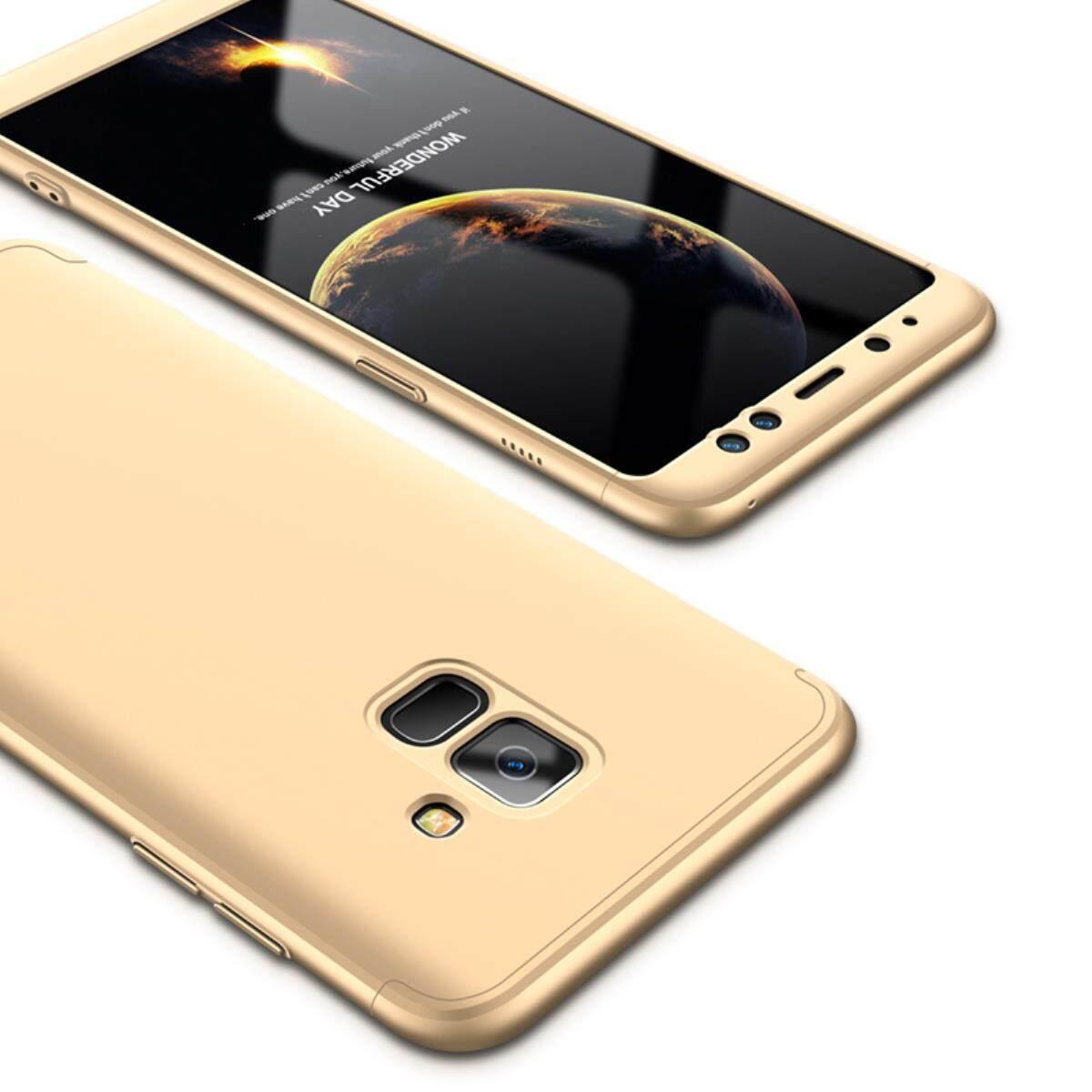 Giá Bán Samsung Galaxy A8 2018 5 6 Case Mooncase Mờ Vỏ Cứng Lưng Pc 360 Toan Than Bảo Vệ Chống Sốc Với 3 Phần Co Thể Thao Rời Ốp Lưng Điện Thoại Như Hinh Quốc Tế Nguyên Mooncase