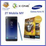 Samsung Galaxy Note FE X-One Extreme Shock Eliminator Screen Protector (Front)