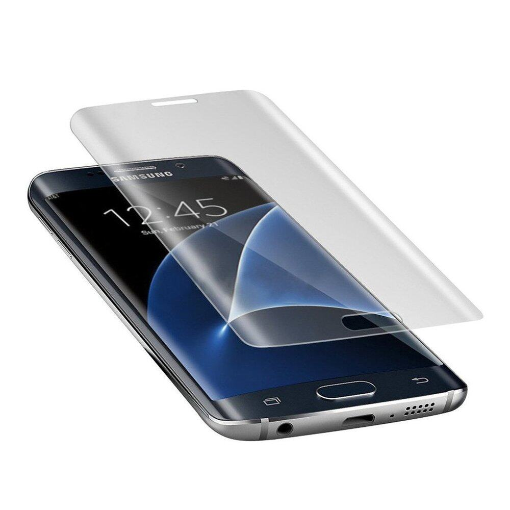 sale retailer 7a441 e3b27 PREMIE Samsung Galaxy S7 Edge 0.3mm 9H 3D Curved Full Screen Cover Tempered  Glass Screen Protector (Clear)