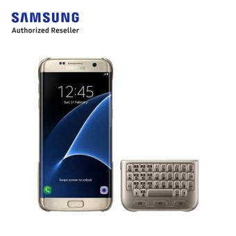 Features Samsung Galaxy S7 Edge Keyboard Protective Cover Gold Dan