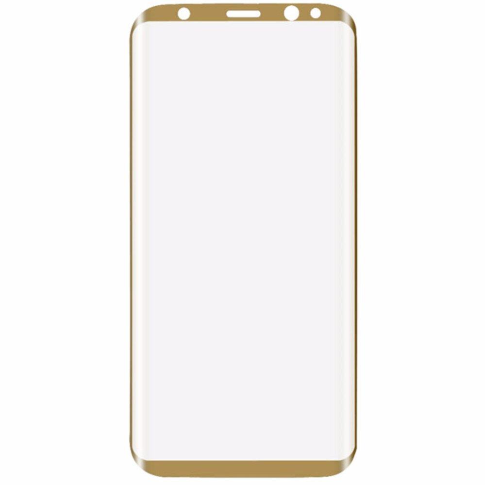 timeless design 94314 9c177 Samsung Galaxy S8 Plus + 0.3mm 9H 3D Curved Full Screen Cover Tempered  Glass Screen Protector (Gold)