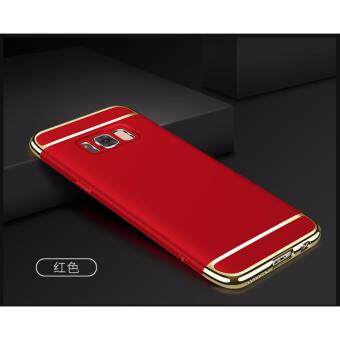 Samsung Galaxy S8 Plus Luxury Protective Matte Case Cover Casing(Red) - 2
