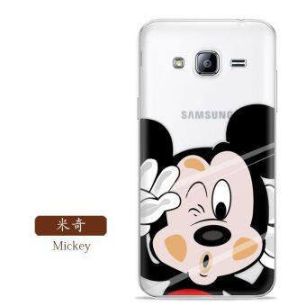 Samsung men and women sm-j320 version of the creative silicone mobile phone shell