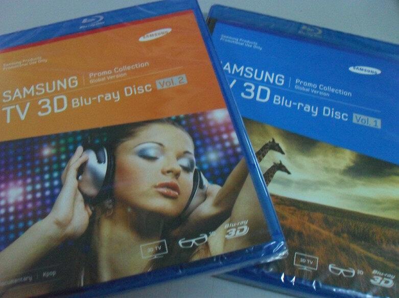 Samsung TV 3D Blu-ray disc Vol.2