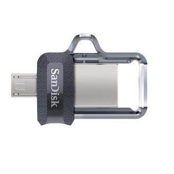 SanDisk Ultra Dual Drive 16GB m3.0 OTG Dual USB Flash Drive for Android & Computers (BUNDLE 2 UNITS)