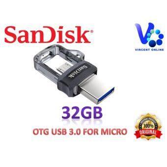 SanDisk Ultra Dual Drive 32GB m3.0 OTG USB Flash Drive