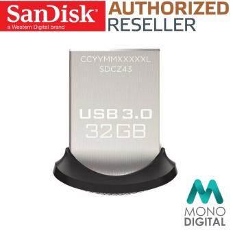 SanDisk Ultra Fit 32GB 150MB/s High Speed USB 3.0 Flash Drive Pen Drive (ORIGINAL)