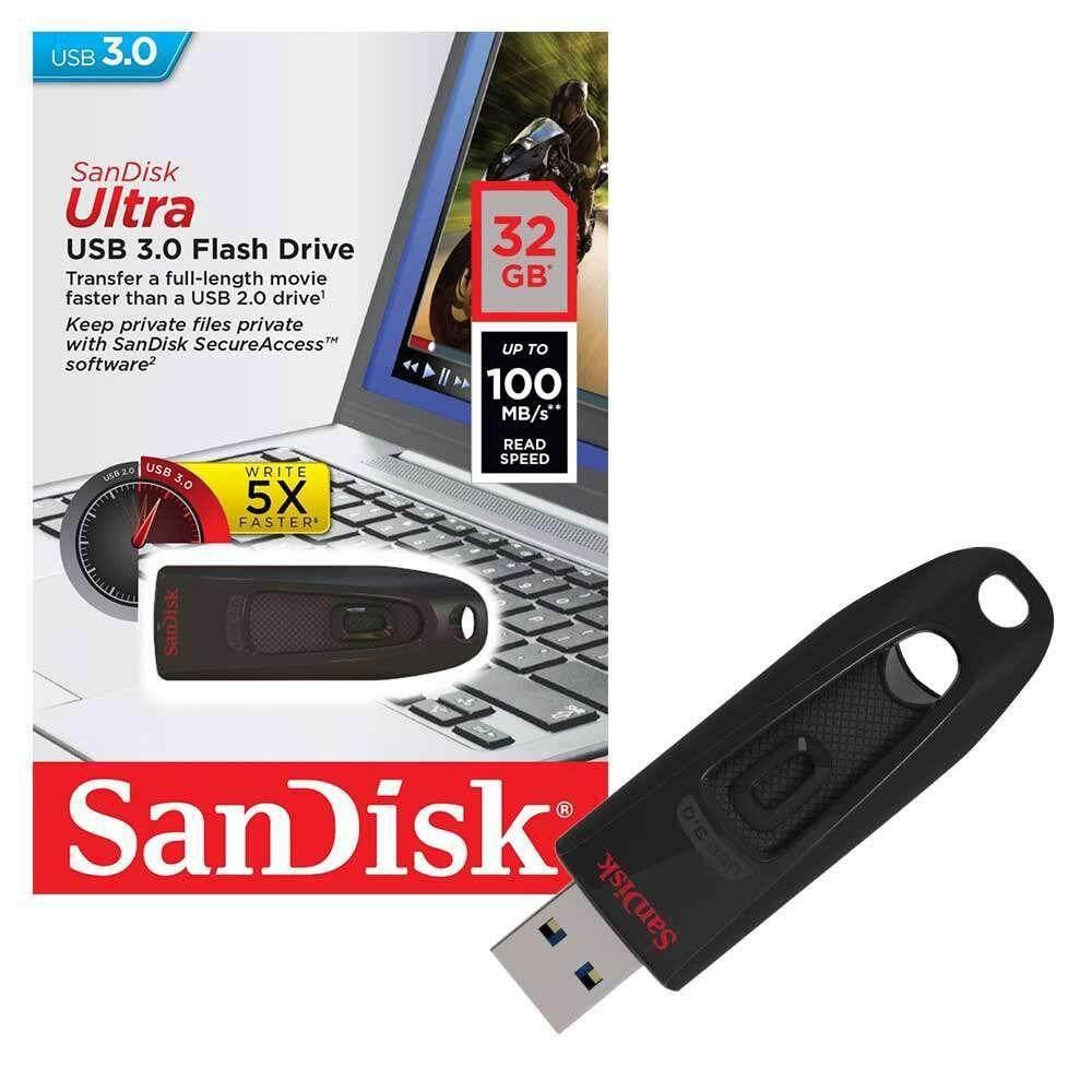 Sandisk Ultra Usb 30 Flash Drive Cz48 32gb 100mb S Malaysia Flashdisk Otg