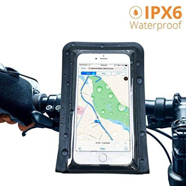 Satechi® Pro RideMate Bike Mount (Waterproof Black 900 Series) for iPhone 6 Plus, 6, 5S, 5C, 5, 4S, HTC EVO, Nexus 6P, Inspire 4G, Sensation, Droid X, Incredible, 3, Samsung EPIC, Galaxy S4, S5, S6, S6 Edge - intl