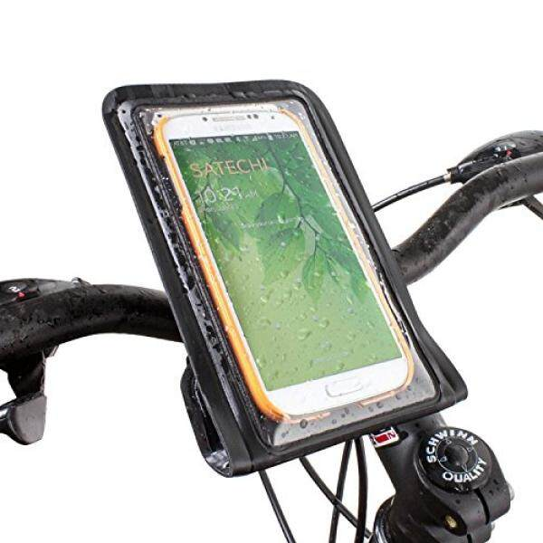 Satechi Pro RideMate Bike Mount (Waterproof Black) for iPhone 6, 5S, 5C, 5, 4S, HTC One, HTC EVO, HTC Inspire 4G, HTC Sensation, Droid X, Droid Incredible, Droid 3, Samsung EPIC, Galaxy S4, S5, S6, Note 3 - intl