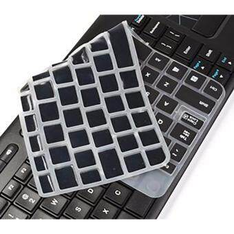 SDD Ultra Thin silicone soft keyboard cover skin for Logitech Wireless Touch Keyboard K400 and K400r (Black) Malaysia