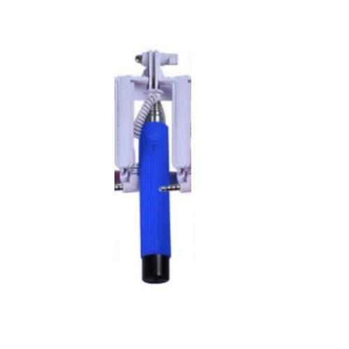 SelFie Cable Monopod  SelFie Stick Blue