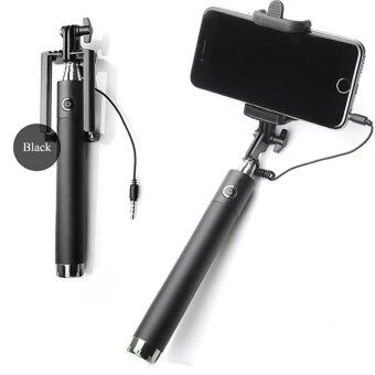 Harga Selfie stick three generations drive-by-wire monopot (Black)