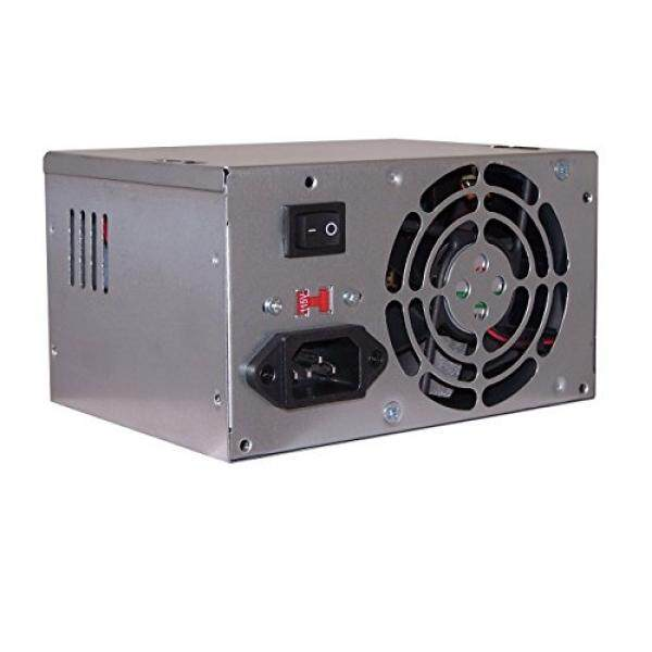 SHARK TECHNOLOGY Compact ATX Computer Power Supply 20/24-Pin Sate/Molex Ide /FDD, Replacement for Dell/HP Pavilion Desktop Tower PC, Upgrade for Delta/Hippo 230W/250W/300W PSU - intl