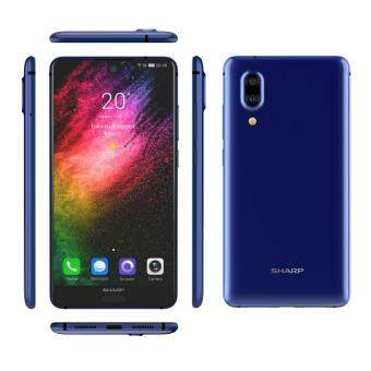 Sharp Aquos S2 [Blue] 5.5 inch Full Screen  4GB + 64GB  3020 mAh Battery