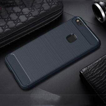 Silicone Carbon Fiber Brushed Case Soft TPU Shockproof Protective Armor Cover For Huawei P10 Lite