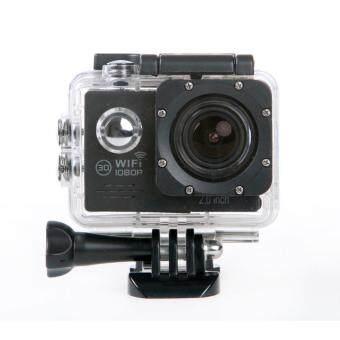 SJ7000 Action Camera 2-inch LCD Wifi Waterproof Sports Cam Black
