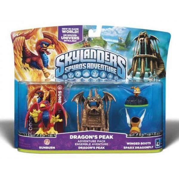 Skylanders Spyros Adventure Bungkus: Naga Peak-Internasional