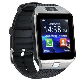 Harga Smart Watches DZ09 Smart Watch for Phone/Camera/Bluetooth/MMC/TouchScreen (Black)