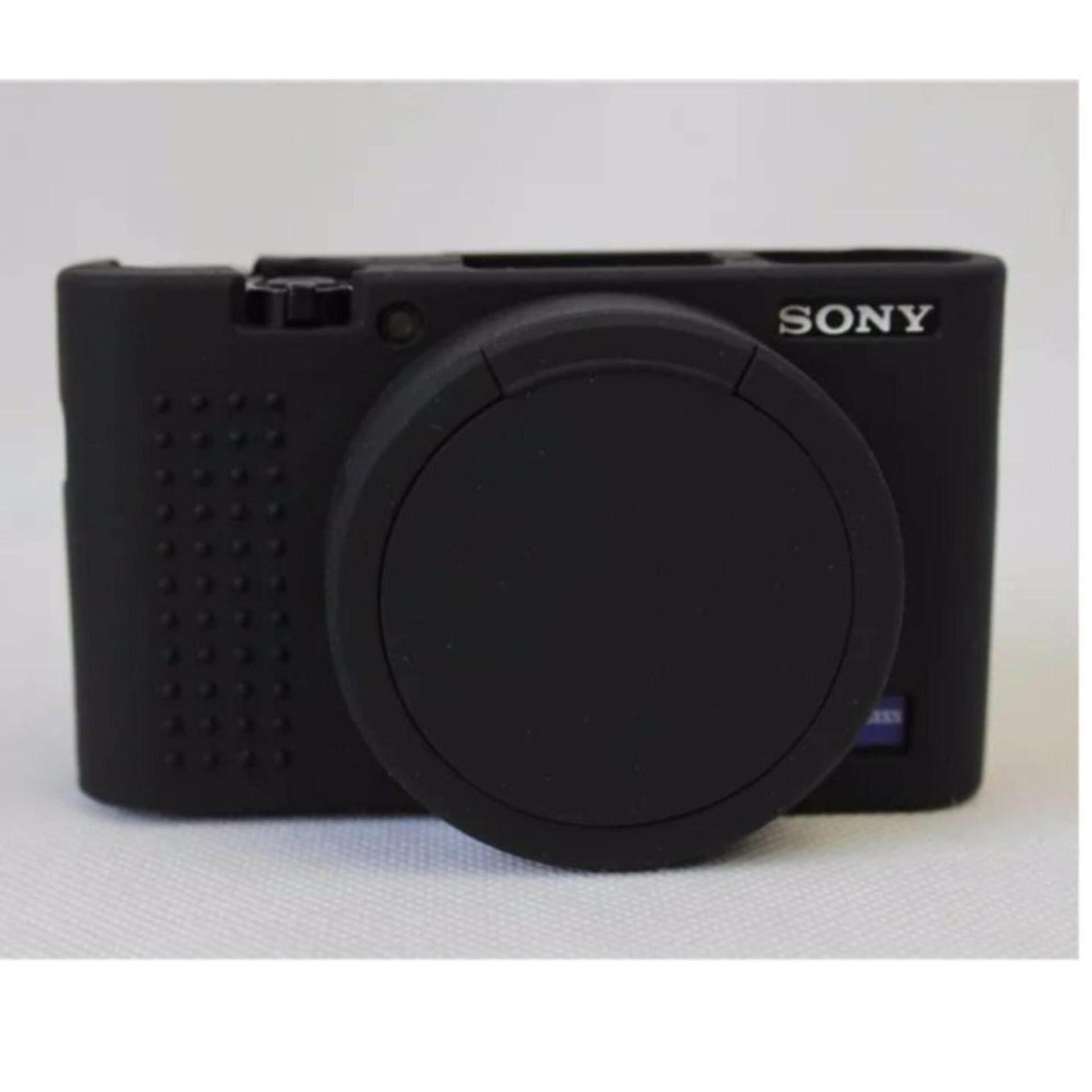 Harga Termurah Lembut Silicone Rubber Protective Camera Body Cover Case Untuk Sony Rx100M5 Rx100M4 Rx100M3 Dengan Bukaan Bawah Kamera Lens Cap Intl