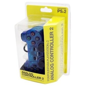 Harga Sony Playstation 2 PS2 Wired Controller Dualshock 2 Blue