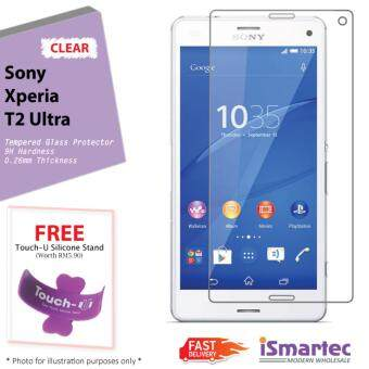 Sony Xperia T2 Ultra XM50H Tempered Glass Protector 0.26mm + 9H Hardness (HD Clear