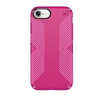 Produk Speck Presidio Pegangan Ponsel Case untuk iPhone 7-Lipstik Merah Muda/Shocking Merah Muda-Internasional