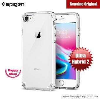 Spigen Ultra Hybrid 2 Protection Case for Apple iPhone 7 iPhone 8 4.7 (Crystal Clear