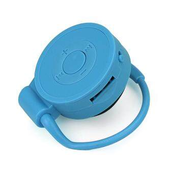 Sport Running Earhook USB Digital MP3 Music Player Support 32GBMicro SD TF Card Blue