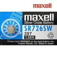 SR726W/SR726SW GENUINE Maxell Silver Oxide Battery 1.55V Malaysia