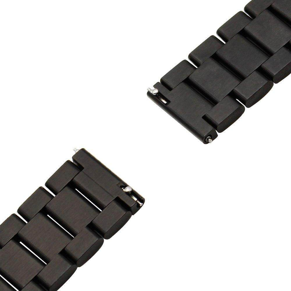 Kehebatan Stainless Steel Watch Band Strap Metal Clasp For Huami Amazfit Bip Smartwatch Replacement Bit Pace Lite Youth Smart