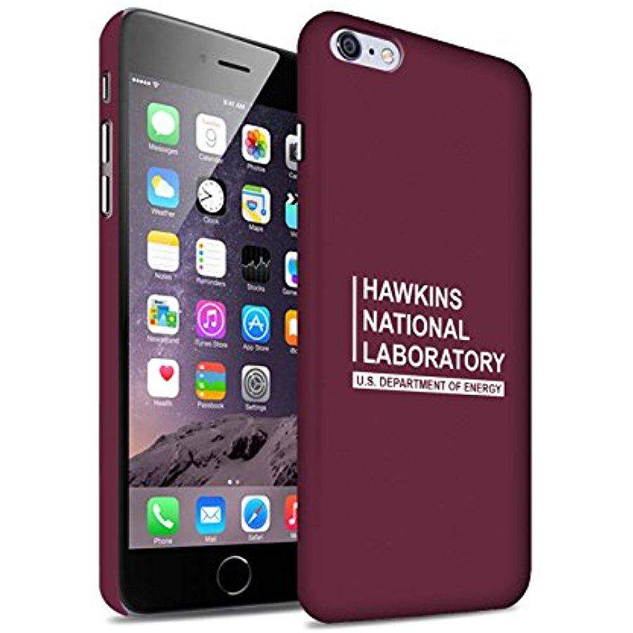 STUFF4 Matte Hard Back Snap-On Phone Case for Apple iPhone 6+/Plus 5.5 / Red Design / Hawkins National Laboratory Collection