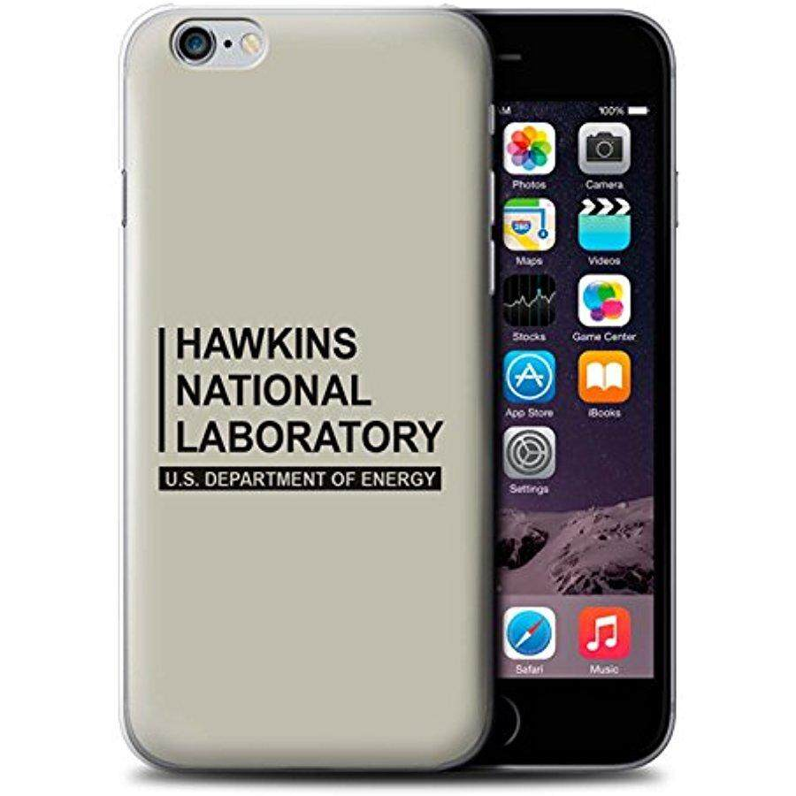 STUFF4 Phone Case / Cover for Apple iPhone 6+/Plus 5.5 / Beige Design / Hawkins National Laboratory Collection