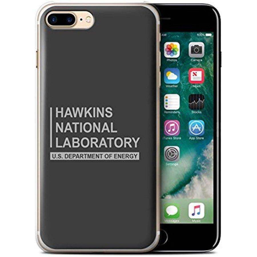 STUFF4 Phone Case / Cover for Apple iPhone 7 Plus / Grey Design / Hawkins National Laboratory Collection