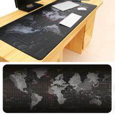 Super Large Size World Map Speed Game Mouse Pad Laptop Gaming Mousepad Practical Office Desk Resting Surface Large Mat Malaysia