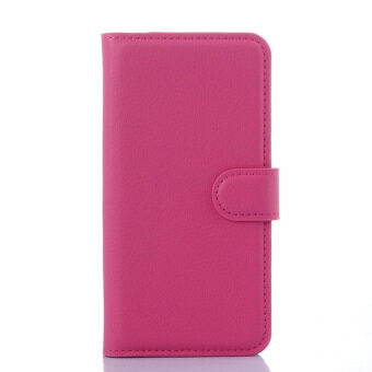 Harga SZYHOME Phone Cases For MEIZU MX4 MX 4 Luxury Retro Leather WalletFlip Cover Black Blue Brown Green Pink Purple Red Rose White SolidColor Shell