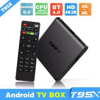 T95X 2GB RAM 16GB ROM Android Box S905X 64Bits Android 6.0 Marshmallow