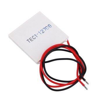 sell tec1 12708 heatsink thermoelectric cooler cooling peltier platemodule in. Black Bedroom Furniture Sets. Home Design Ideas