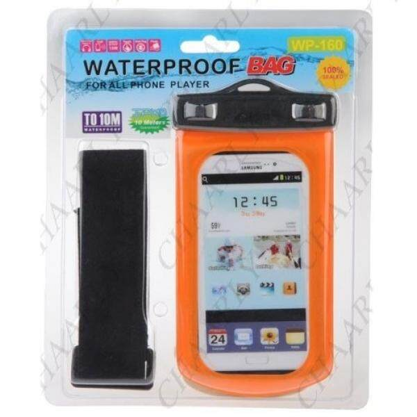 TechCare Water Proof Underwater Case for Apple iPhone 5, Galaxy S4, HTC One , iPod Touch 5, Galaxy S3, HTC One X/X+, Droid RAZR/MAXX, Nexus 4, EVO 4G LTE, Droid Incredible, LG Optimus G, Nokia Lumia, Droid DNA, Windows Phone 8X - IPX8 (Orange) - intl